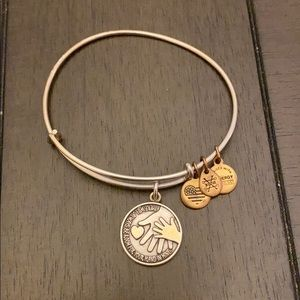 Alex and ani mother's hand bracelet